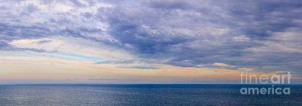 Photograph - Panorama Of Sky Over Water by Elena Elisseeva