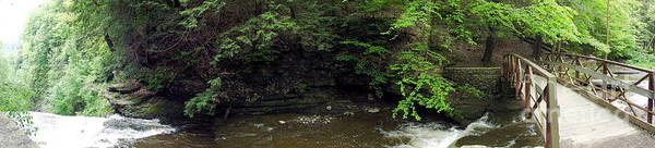 Photograph - Panorama Of Wolf Creek At Letchworth State Park by Rose Santuci-Sofranko