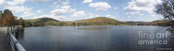 Photograph - Panorama Red House Lake Allegany State Park by Rose Santuci-Sofranko