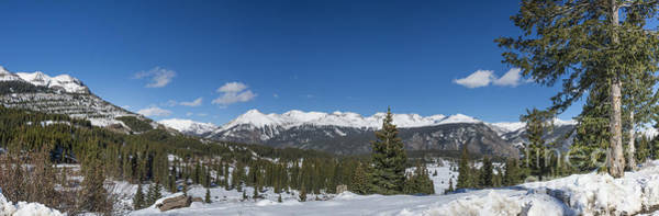 Photograph - Panorama View From Molas Pass by Tim Mulina