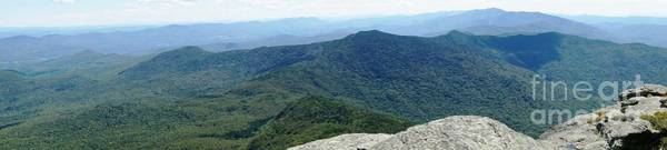 Waterbury Photograph - Panoramic From Camels Hump by Jennifer Colombo
