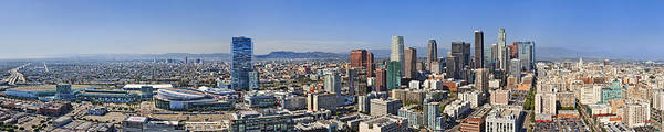 Nokia Photograph - Panoramic Los Angeles by Kelley King