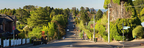 Photograph - Panoramic Photo Of Katoomba Street by Yew Kwang