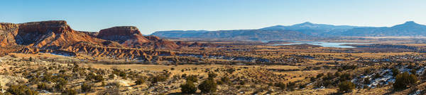 Wall Art - Photograph - Panoramic View From Ghost Ranch by Ellie Teramoto