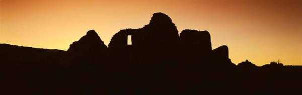 Chaco Canyon Wall Art - Photograph - Panoramic View Of Chaco Canyon Indian by Panoramic Images
