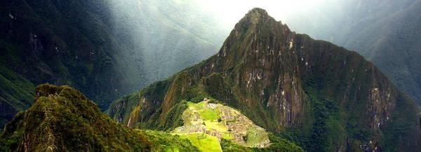 Brillante Photograph - Panoramic View Of Machu Picchu City by HQ Photo