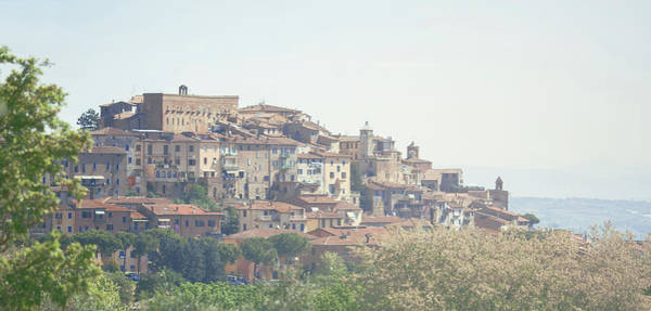 Pasquale Photograph - Panoramic View Of Pienza, Tuscany by Nico De Pasquale Photography
