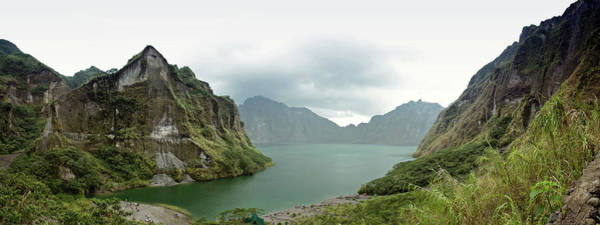 Philippines Photograph - Panoramic View Of Pinatubo Crater by Jowena Chua