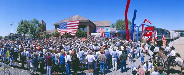 Republican Party Photograph - Panoramic View Of Spectators At Oxnard by Panoramic Images