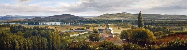 Painting - Panoramic View Of The Ile-de-france by Theodore Rousseau