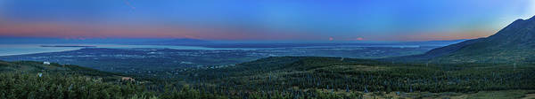 Wall Art - Photograph - Panoramic View Overlooking Anchorage by Panoramic Images