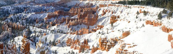 Photograph - Panoramic Winter Sunrise Sunset Point Bryce Canyon National Park by Dave Welling