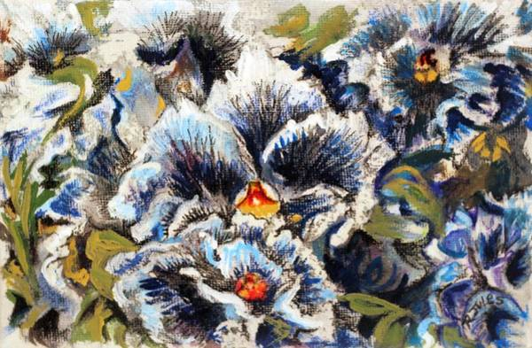 Painting - Pansy Patterns by Richard Jules
