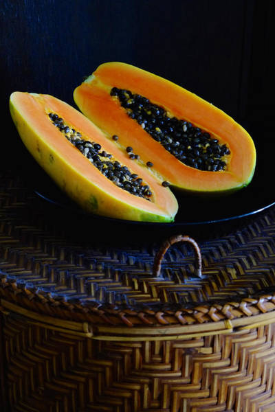 Photograph - Papaya For Breakfast by August Timmermans