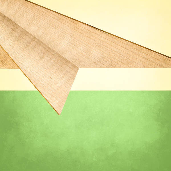 Glider Wall Art - Photograph - Paper Airplanes Of Wood 17 by YoPedro