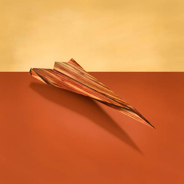 Wall Art - Photograph - Paper Airplanes Of Wood 4 by YoPedro