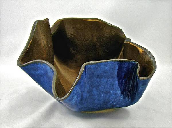Sculpture - Paper-thin Bowl  09-005 by Mario MJ Perron