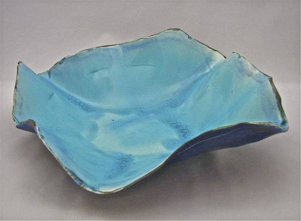 Sculpture - Paper-thin Bowl  09-012 by Mario MJ Perron