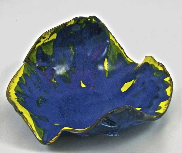 Ceramic Art - Paper-thin Bowl  09-014 by Mario MJ Perron