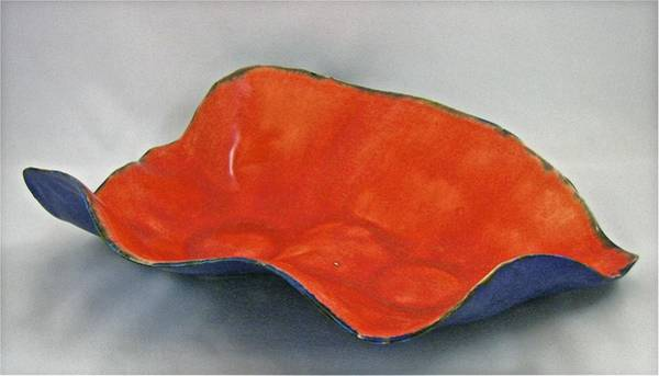 Sculpture - Paper-thin Bowl 09-018 by Mario MJ Perron