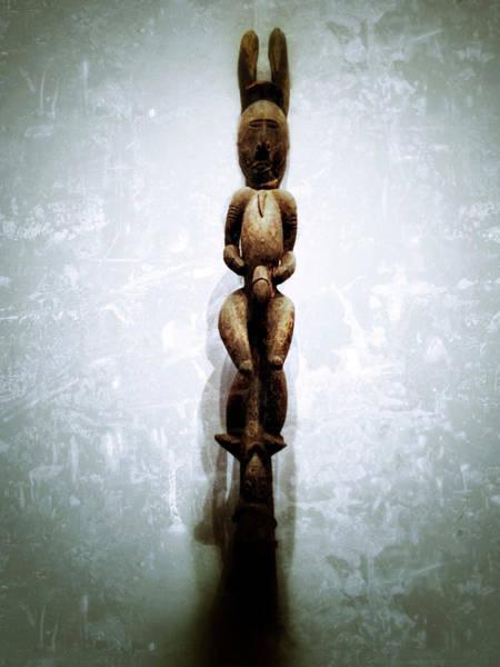 Photograph - Papua New Guinea Ancestral Figure by Natasha Marco