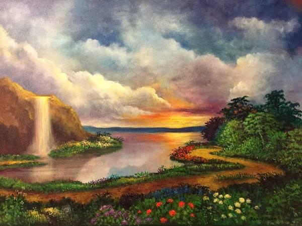 Paradise And Beyond Art Print
