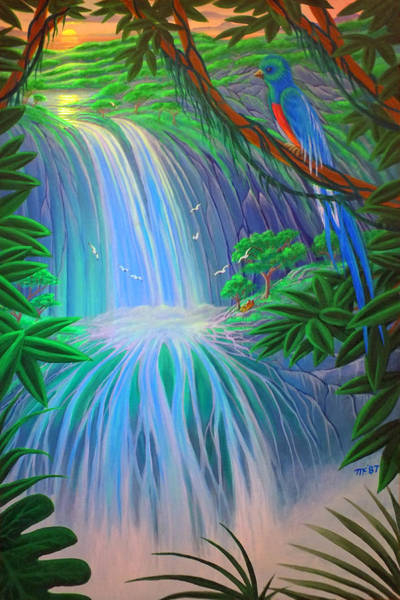 Painting - Paradise Falls by Duane McCullough