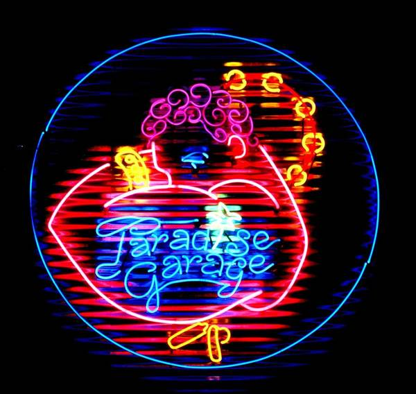 Neon Wall Art - Sculpture - Paradise Garage by Pacifico Palumbo