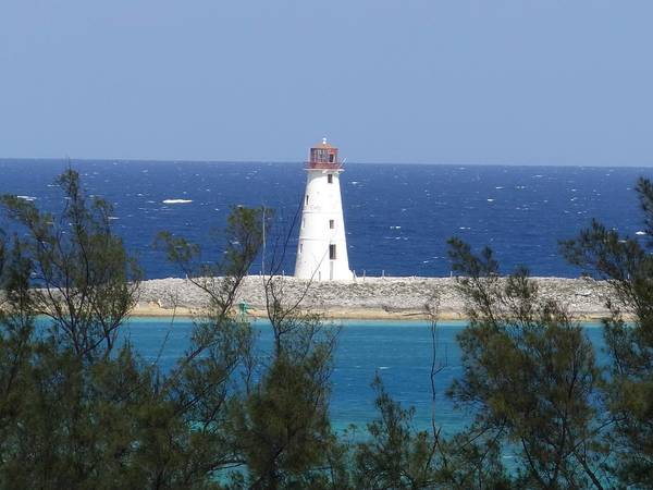 Photograph - Paradise Island Light by Keith Stokes