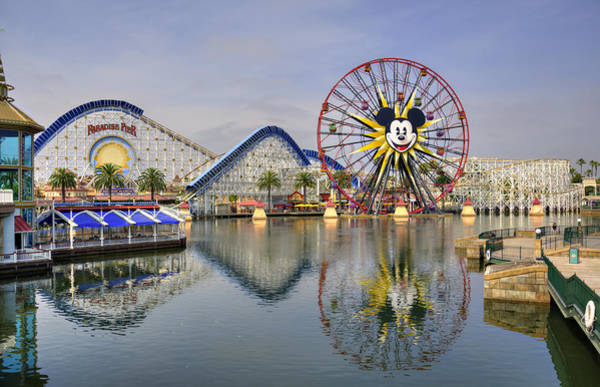 Wall Art - Photograph - Paradise Pier by Ricky Barnard