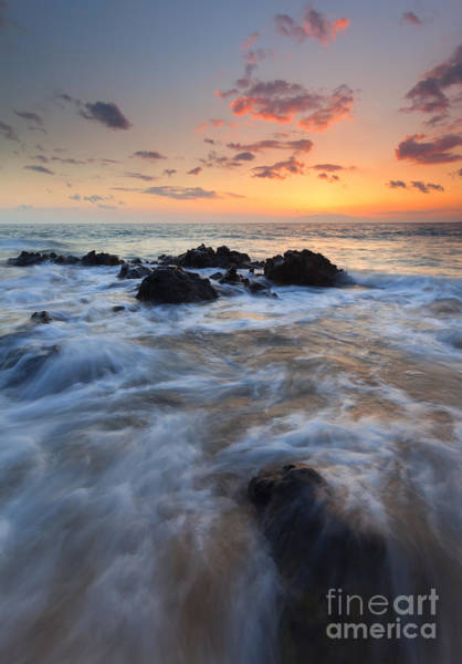 Maui Sunset Photograph - Paradise Surge by Mike Dawson