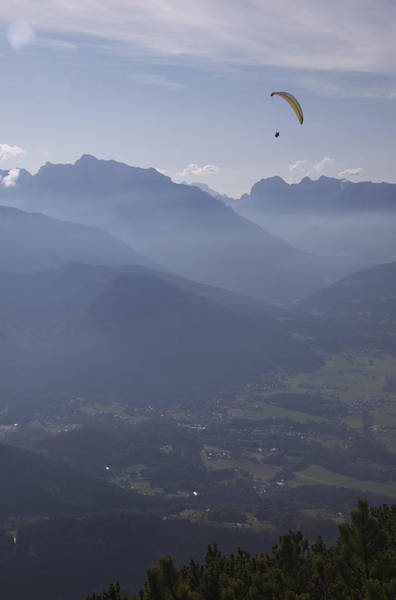 Photograph - Paraglider's View by Owen Weber