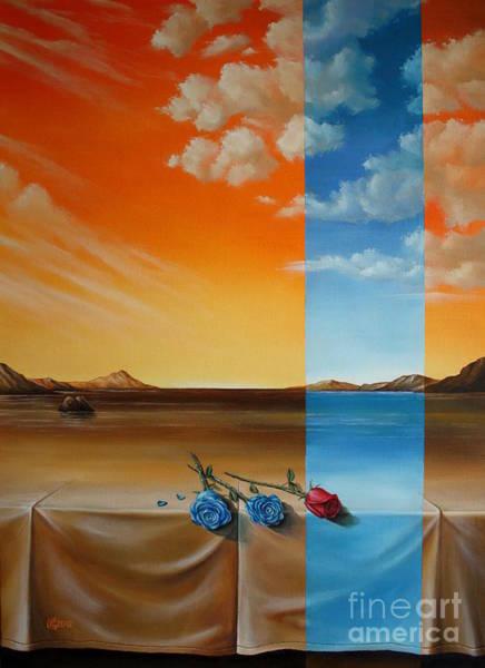 Magic Realism Painting - Parallel World by Svetoslav Stoyanov