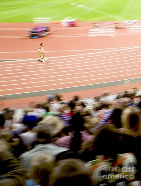 Blade Runner Photograph - Paralympics Track Race by Carlos Dominguez