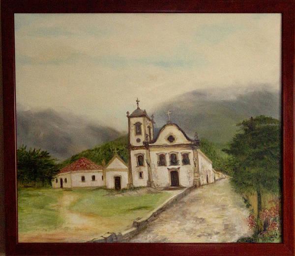 Paraty Church  Art Print
