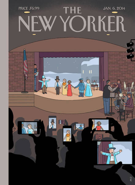 Wall Art - Painting - All Together Now by Chris Ware