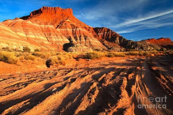 Photograph - Paria Badlands by Adam Jewell