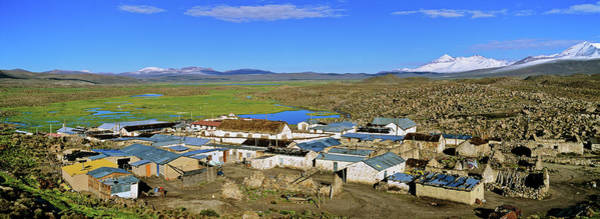 Aymara Wall Art - Photograph - Parinacota, An Aymara Village In Lauca by Martin Zwick