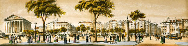 Wall Art - Photograph - Paris 1878 by Mountain Dreams