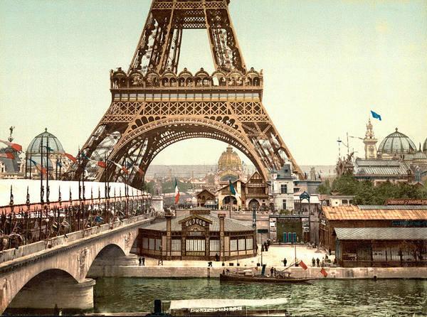 1889 Photograph - Paris 1889 World's Fair by Library of Congress