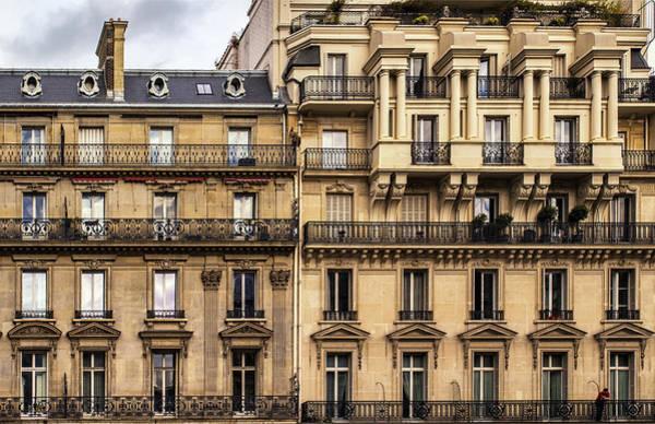 Photograph - Paris Buildings by Georgia Fowler