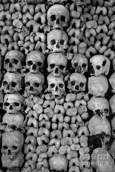 Photograph - Paris Catacombs by Inge Johnsson