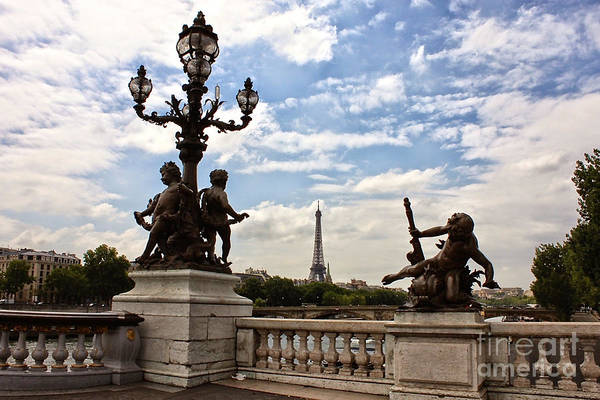 Photograph - Paris Drama by Carol Groenen