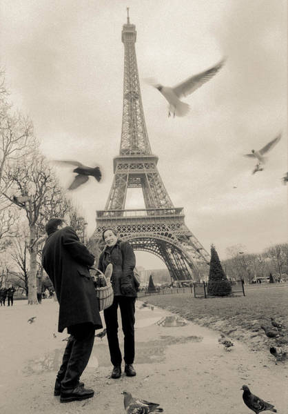 Photograph - Paris Encounters3 by Matthew Pace