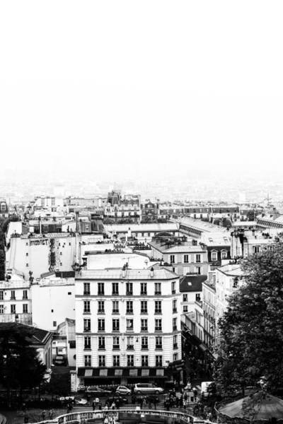Comtemporary Photograph - Paris France From High Mono by Georgia Fowler
