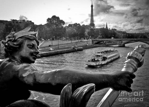 Photograph - Paris - France - Pont Alexandre IIi by Carlos Alkmin
