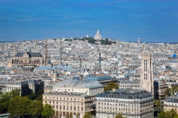 Cours Photograph - Paris France Sacre-coeur Basilica by Michal Bednarek
