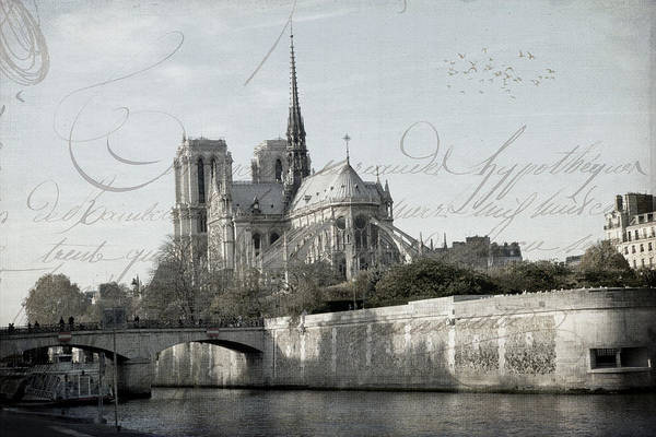 Photograph - Paris History by Evie Carrier