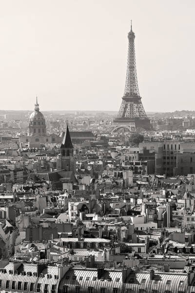 Photograph - Paris In Black And White by Pierre Leclerc Photography