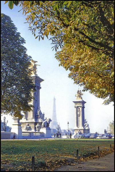 Photograph - Paris In The Fall 1954 by Chuck Staley